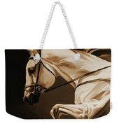 White Beautiful Horse  Weekender Tote Bag