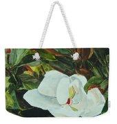 White Beauty Weekender Tote Bag