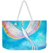 White Bird From Kingdom Of Immortals Weekender Tote Bag