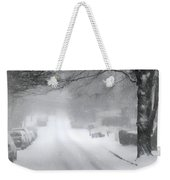White Blanket Weekender Tote Bag