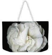 White Blossom Weekender Tote Bag