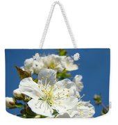 White Blossoms Art Prints Spring Tree Blossoms Canvas Baslee Troutman Weekender Tote Bag