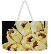 White Bouquet Weekender Tote Bag