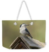 White-breasted Nuthatch Weekender Tote Bag