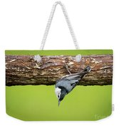 White-breasted Nuthatches Weekender Tote Bag