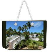 White Bridge Weekender Tote Bag