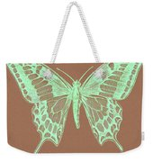 White Butterfly Swallow Tail Le Papillon Machaon Weekender Tote Bag