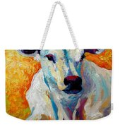 White Calf Weekender Tote Bag