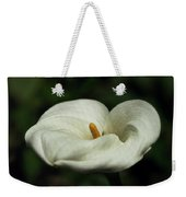 White Calla Lilly  Weekender Tote Bag