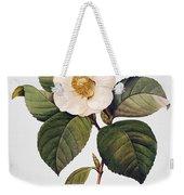 White Camellia Weekender Tote Bag by Granger