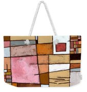 White Chocolate Weekender Tote Bag