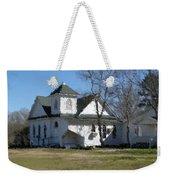 White Church Near The Lake Weekender Tote Bag