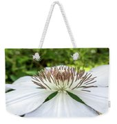 White Clematis Flower Garden 50146 Weekender Tote Bag