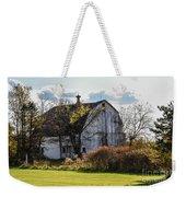 White Country Barn Weekender Tote Bag
