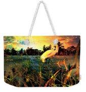 White Cranes Weekender Tote Bag