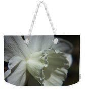 White Daffodil Weekender Tote Bag