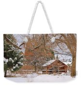 White December Weekender Tote Bag