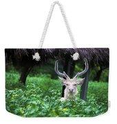 White Deer Weekender Tote Bag