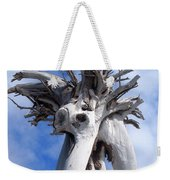 White Desert Tree Weekender Tote Bag