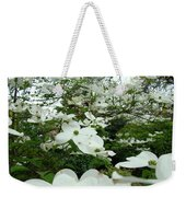 White Dogwood Flowers 6 Dogwood Tree Flowers Art Prints Baslee Troutman Weekender Tote Bag