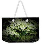 White Dogwood Weekender Tote Bag