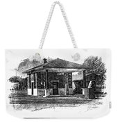 White Eagle Gas Station Weekender Tote Bag