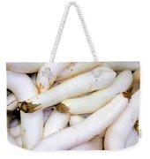 White Eggplants Weekender Tote Bag