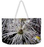 White Flora Weekender Tote Bag