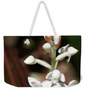 White Flower Buds Weekender Tote Bag