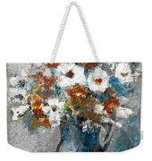 White Flower In Vase And Mug Weekender Tote Bag