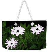 White Flowers In The Garden Weekender Tote Bag