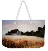 White For Harvest Weekender Tote Bag