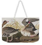 White-fronted Goose Weekender Tote Bag