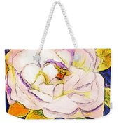 White Gardenia Weekender Tote Bag