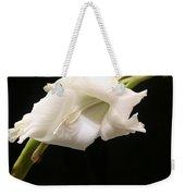 White Gladiolus Weekender Tote Bag