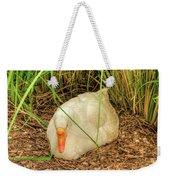 White Goose By Pond Weekender Tote Bag