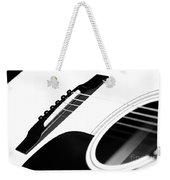 White Guitar 10 Weekender Tote Bag
