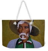 White Haired Man - 2d Weekender Tote Bag