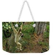 White Handed Gibbon 3 Weekender Tote Bag