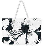 White Hibiscus- Art By Linda Woods Weekender Tote Bag