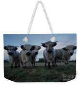 White High Park Cow Herd Weekender Tote Bag