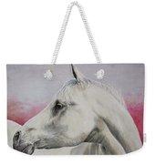 White Horse- Arabian Weekender Tote Bag