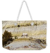 White Horse On A Mound Weekender Tote Bag
