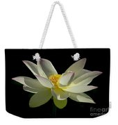 White Hot And Graceful Weekender Tote Bag