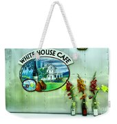 White House Cafe Weekender Tote Bag