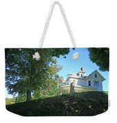 White House With Hillside Shade Weekender Tote Bag