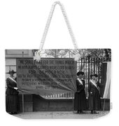 White House: Suffragettes Weekender Tote Bag