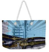 White House To The Moon Weekender Tote Bag