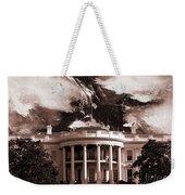 White House Washington Dc Weekender Tote Bag
