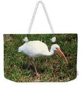 American White Ibis Bird Weekender Tote Bag